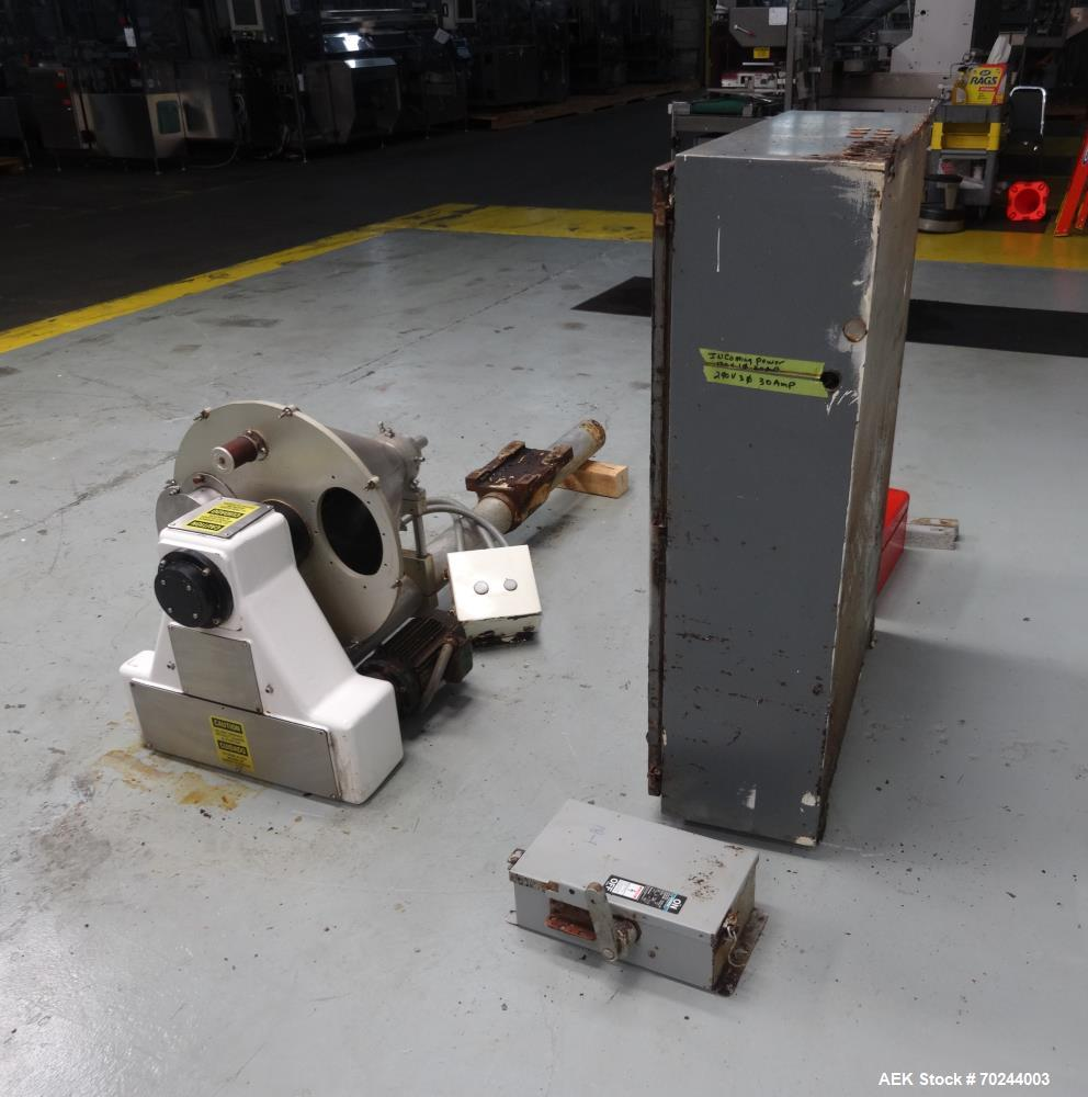 Used- Accufill Model 75 Speedster Semi Automatic Servo Powder Auger Filler
