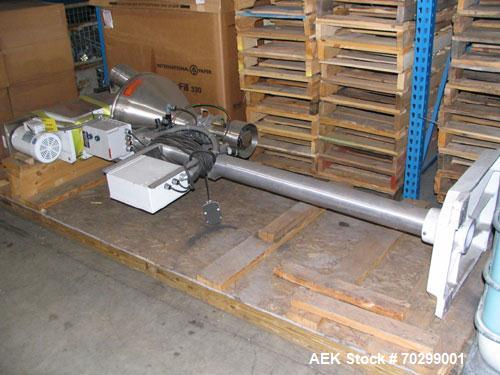 Used-Used: All Fill B-350 auger filler. Semi automatic, complete with agitated hopper. 3/60/208/230V