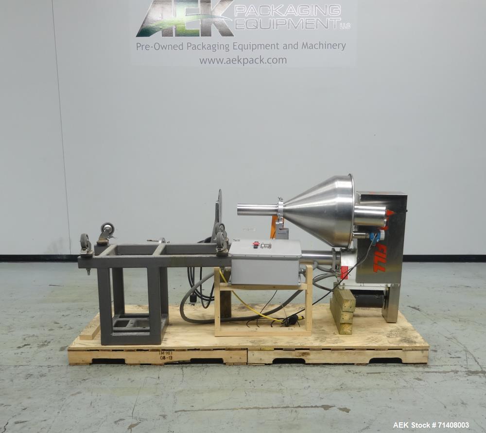 Used- All-Fill Model B-350 Cerebus III Powder Auger Filling Head