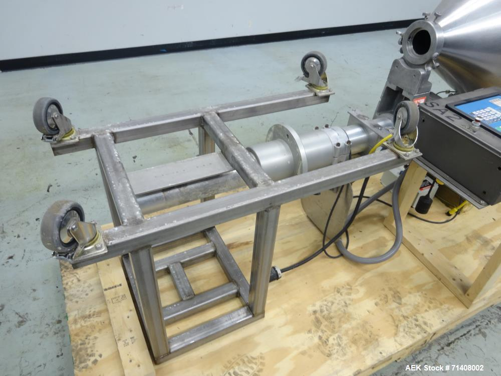 Used- All-Fill Model B-400 Cererebus III Powder Auger Filling Head