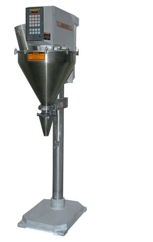 Used-Used: All Fill B-250 single head auger filler. Has agitated hopper, foot pedal type of operation.