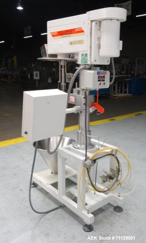 Used- All-Fill Model BS-300 Cerebus II Inline Powder Auger Filler