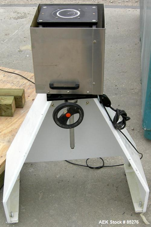 "Used- All Fill Inc Single Auger Filler, Model BS400, 304 Stainless Steel Contact Parts. Hopper is 22"" diameter x 4"" straight..."