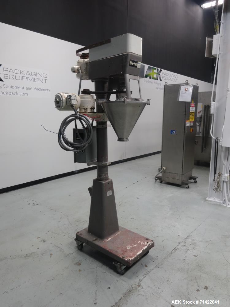 Used- Bartelt Model D Semi Automatic Powder Auger Filler