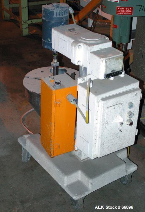 Used- Mateer-Burt Semi-Automatic Filler, Model 31-A