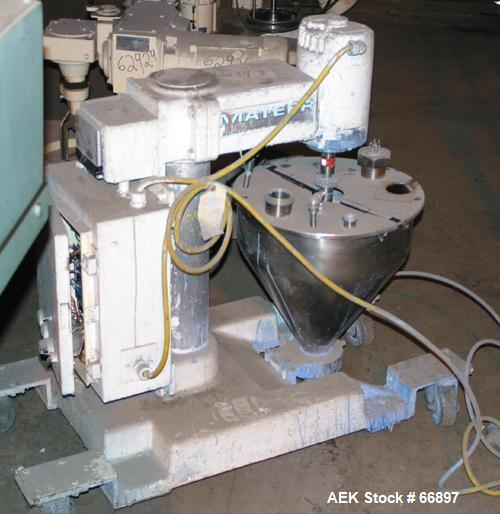 Used- Mateer-Burt Semi-Automatic Filler, Model 31-A