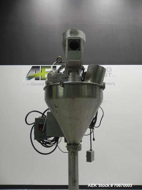 Used- Mateer-Burt Model 31-A Single Head Powder Filling Machine