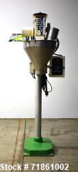 Used- Mateer Burt Model 1000 Neotron Semi-Automatic Single Head Auger Filler.