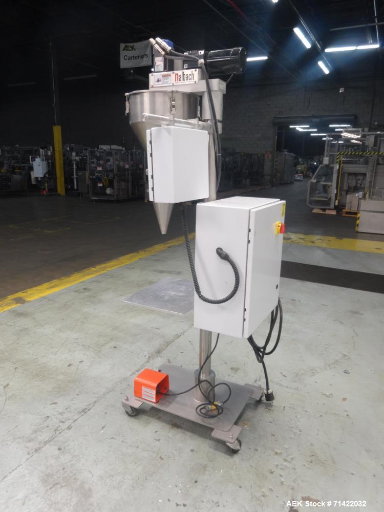 Used- Nalbach Model NMAF-1001 Powder Auger Filler Servo Driven.