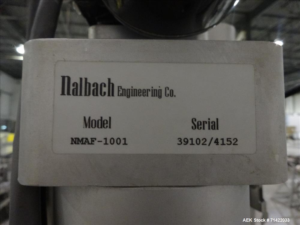Used- Nalbach Model NMAF-1001 Powder Auger Filler