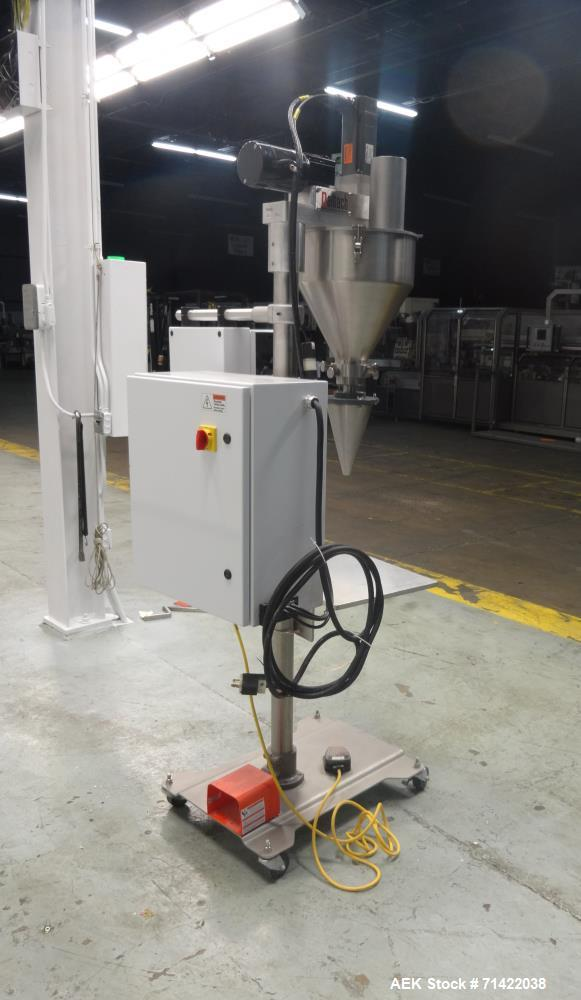 Used- Nalbach Model NMAF-1001 Powder Auger Filler Servo Driven.