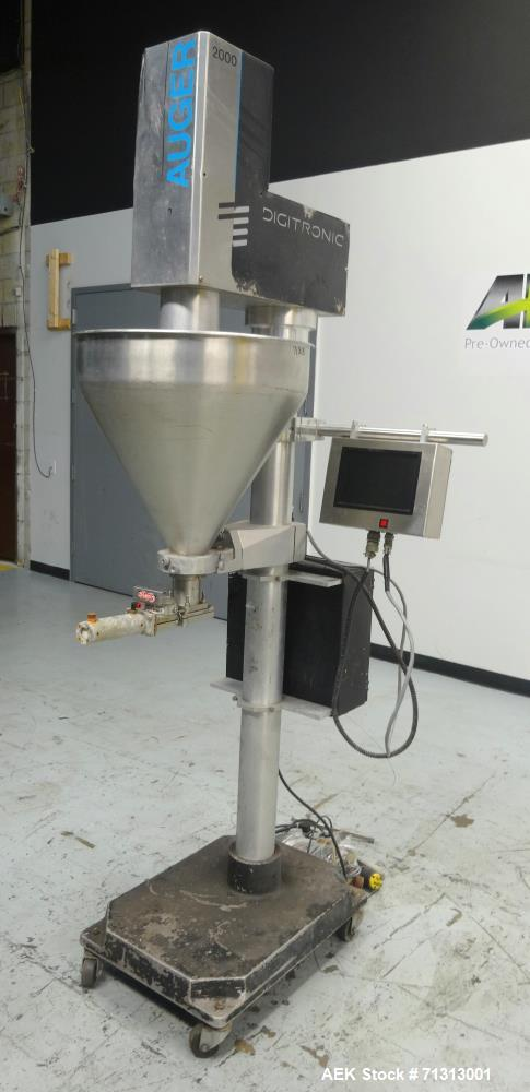 "Used- Spee-Dee Model 2000 ""Digitronic"" Semi-Automatic Auger Filler"