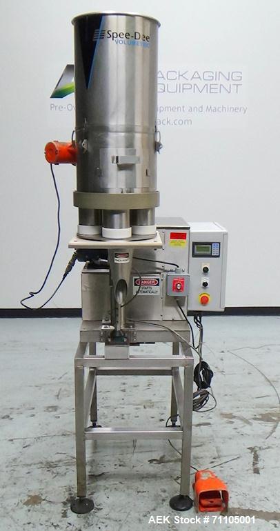 Used- Spee-Dee Model CBE 264 Volumetric Cup Filler