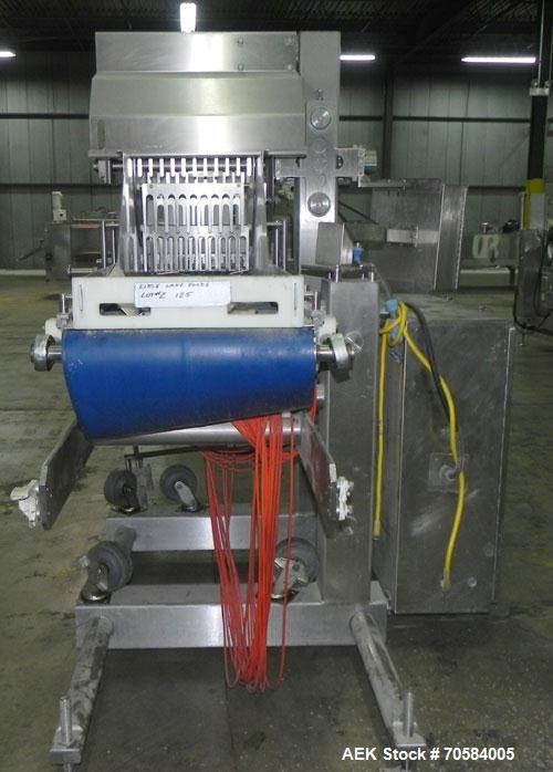 Used- Quantum Waterfall Toppings Applicator, Model WF3000-16