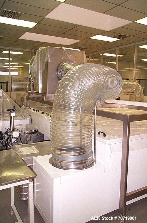 Used-SpeMaBa FM605 Filling Line and Cooling Plant for Flat Cans