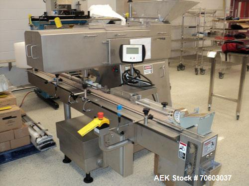 Used- Cremer Model CF-1220 Electronic Channel Counter.  (12) Lane design, rated for up to 55 cpm on 100 count bottles, with ...
