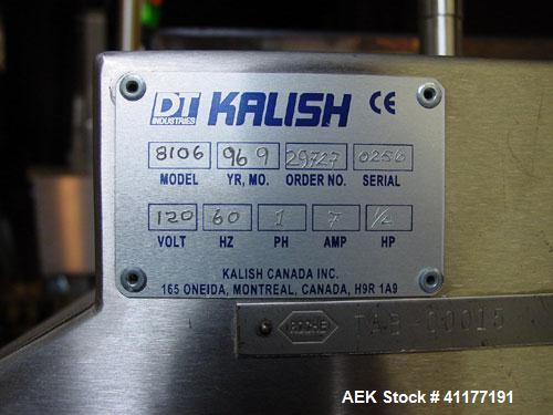 Used- Kalish Model A12PTS Swiftpack Tablet Counter