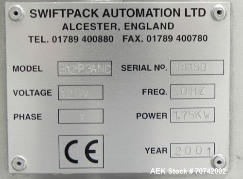 Used- Kalish (IMA Novea) Swiftpack Electronic Tablet Counting and Bottle Filling
