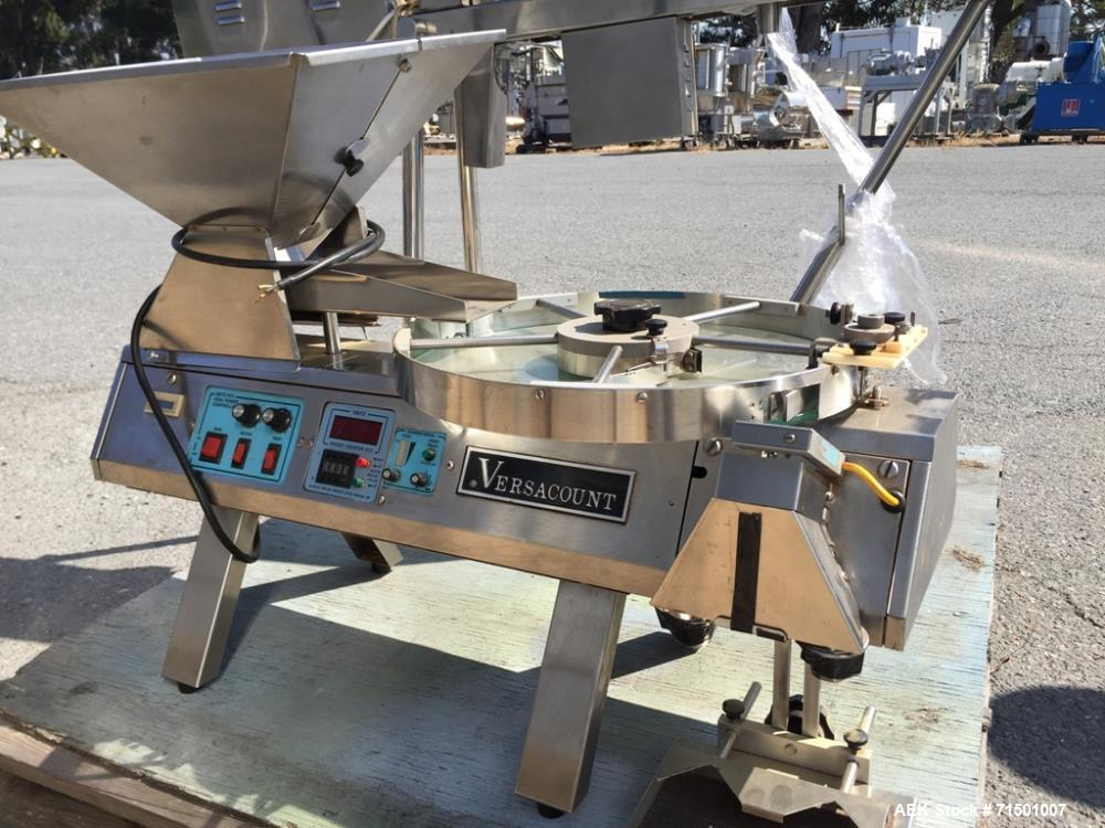Used- Versacount Model 741R Vibratory Tablet Counter
