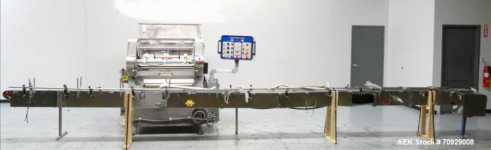 Used- Merrill Model 72-39 ADH Dual Lane Slat Counter