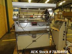 Used- Merrill 72-39A Dual Lane Slat Counter.