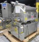 Used- Merrill Model 72-39 AH Dual Lane Slat Counter. Machine is capable of speeds up to 300 bottles per minute. Has dual scr...