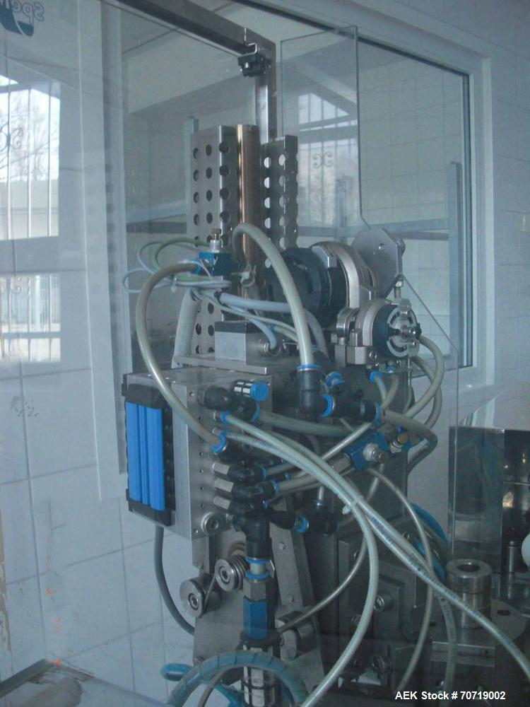 Used- TUFÜMA 60 Filling and Closing Machine for aluminium and plastic tubes