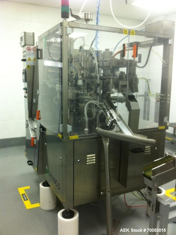Used-Romaco Unipac Tube Filling Line