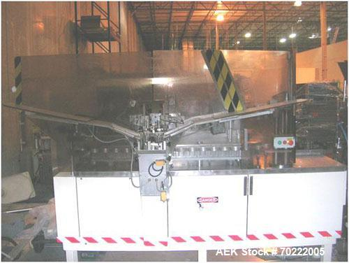 Used-Arenco (Norden) AM2000 Metal Tube Filling Machine.