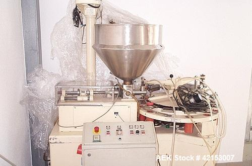 Used-Cotuplas Automatic Tube Filler for PVC Tubes, Model RS 58C