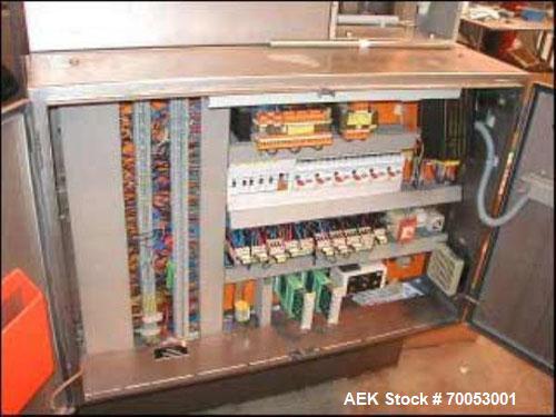 Used- IWKA TU200 Automatic Dual Head Metal Tube Filler