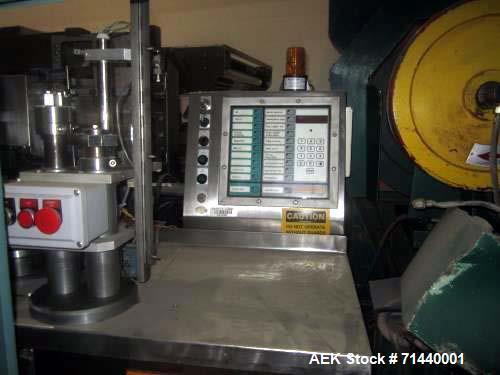 Used- Norden NM1000 Metal Tube Filler. Cassette tube infeed. Registration.