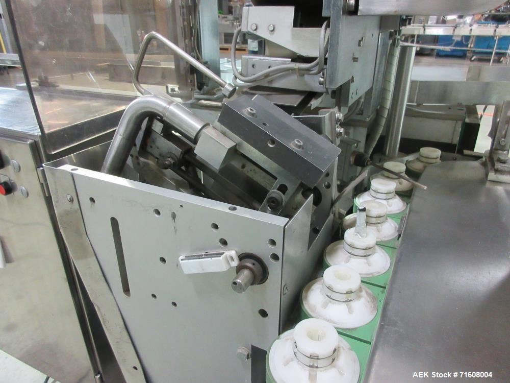 Used- Norden Model NM-1000 Automatic Metal Tube Filler and Sealer