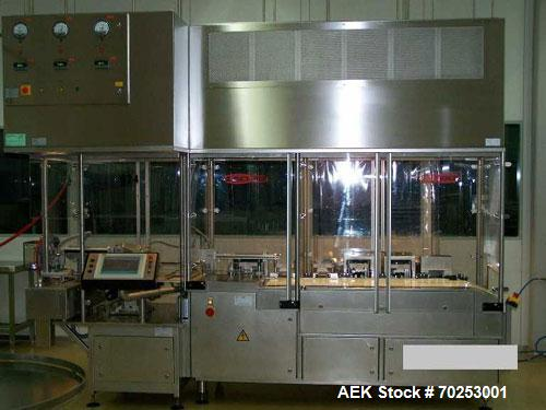 Used-B & S Alphacos Infusion Solution Production Line.  Output 100 bags/hour of 5,000 ml, 350 bags/hour of 1,000 ml bags; ha...