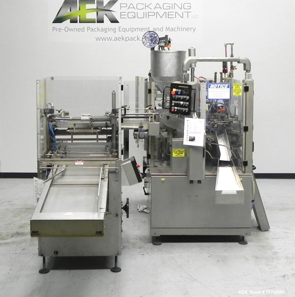 Used- IWKA Model TFS20 Hot Air Tube Filler
