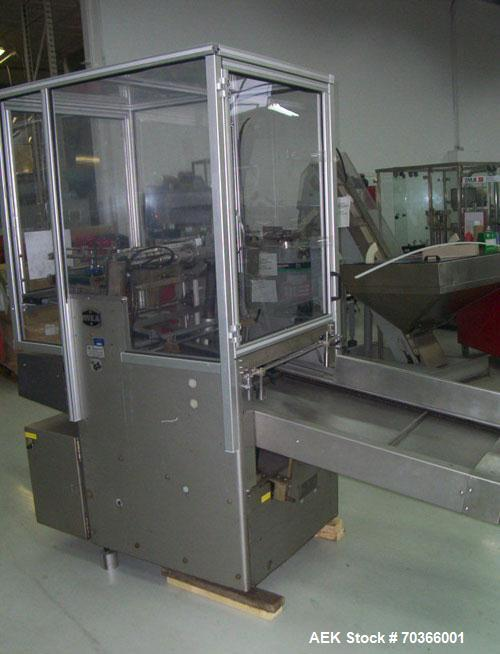 Used-Used: IWKA Automatic Tuber Feeder Model TZ-101 features 21 stations with motorized exit conveyor.