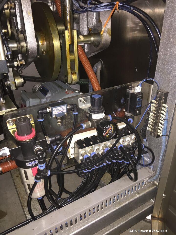 Used- JDA Plastic Tube Filler, Model Super 30. 2,400 tubes per hour, tubes have diameters of: 1 Set: 36.5mm in diameter and ...