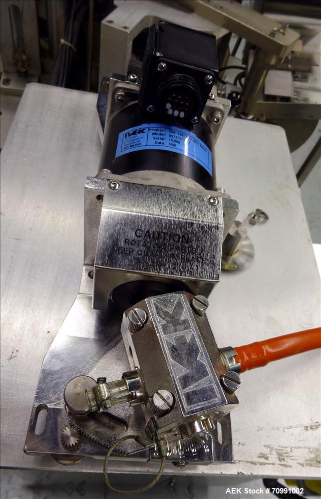 Used- Kalix Model KX-600E automatic hot air plastic tube filler