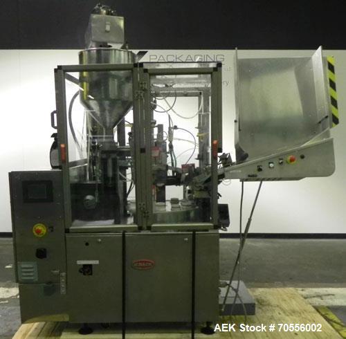 Used- Kalix Model KX80B Hot Air Plastic Tube Filler and Sealer
