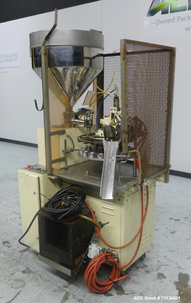 Used- Kalix Model Model KX-60 Plastic Tube Filling Machine