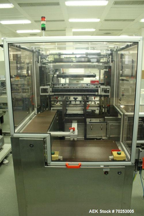 Used-Norden Filling and Packing Line for cream/ointment. Maximum output 100 tubes/min. Comprised of (1) Norden filling/closi...