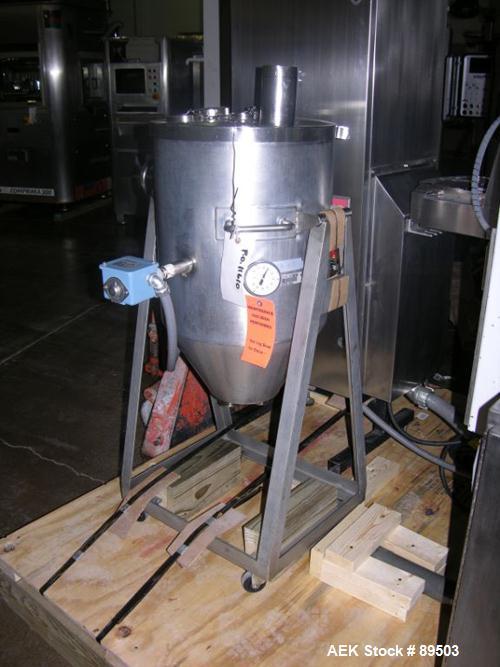 Used- Norden Plastic Tube Filling Line Consisting Of: (1) Model NM2000 Norden tube filler, hinged cassette tube feeder, tube...