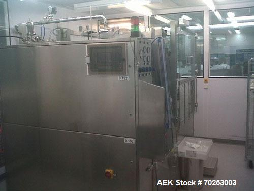 Used-Romaco Unipack U240 Tube Filling and Closing Machine for laminate plastic tubes