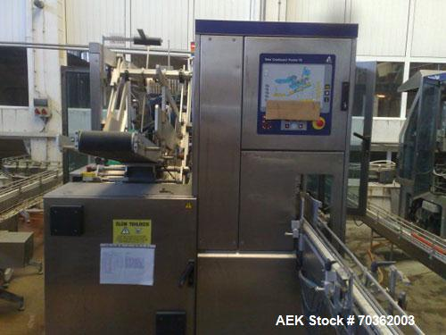 Used-TetraPak Packaging Line handling 16.9 fluid ounces (500 ml) SLIM units. Comprised of: (1) TBA8-500ML S, built in 2003, ...