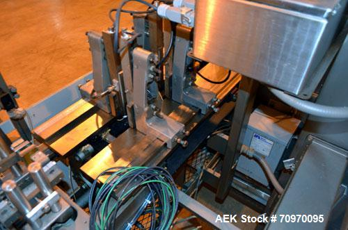 Used- Bartelt (Klockner) IM-716-Horizontal Form Fill & Seal Pouch Machine. Capable speeds -100 Pouches/min on Single Index, ...