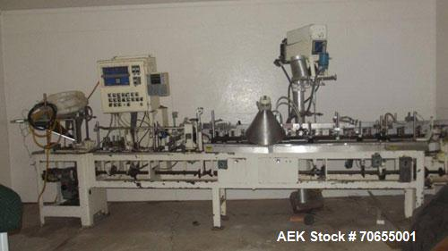 "Used-Bartelt Model IM-7 Horizontal Form Fill Seal Machine capable of speeds of up to 100 pouches per minute.  Has 7"" centers..."