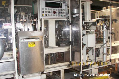 Used-Used: Bartelt Microwave Popcorn Machine, Magzine feed, with filler for Salt, corn and oil.