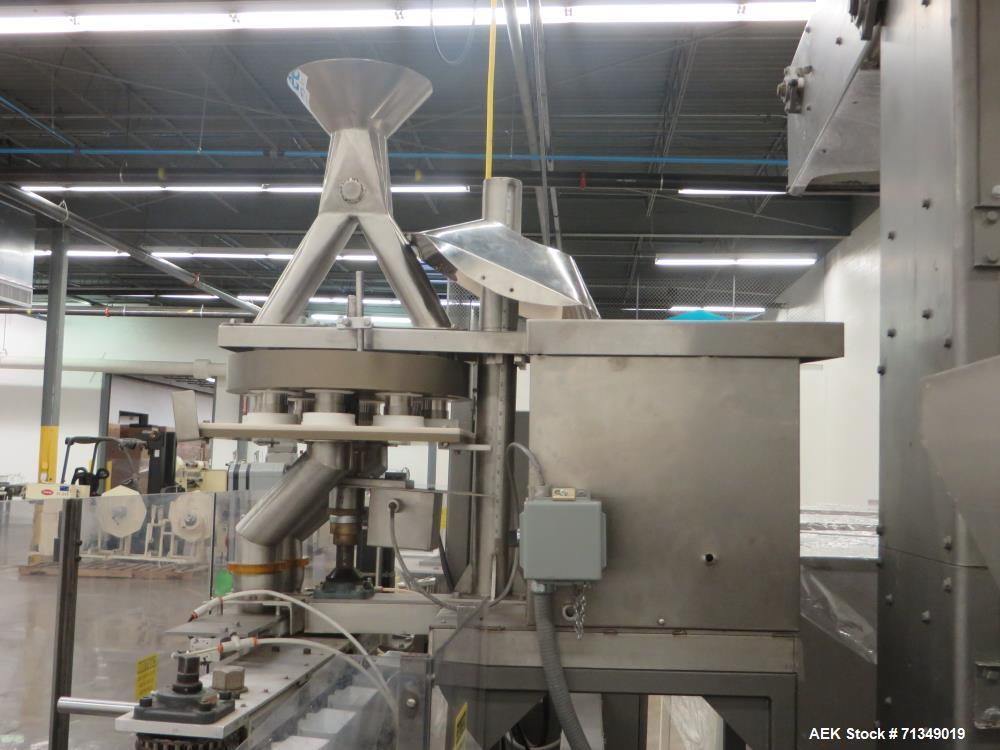 Used- Bartelt (HMC) IM7-14 Horizontal Form Fill and Seal Machine