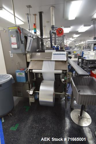 Used- Bartelt (Klockner) Model IM7-14 Servo Horizontal Form Fill and Seal Machine. Machine is capable of speeds up to 100 cp...