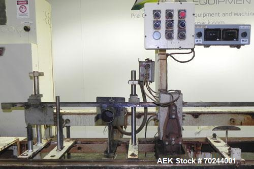 "Used- Klockner Bartelt IM9-14 Horizontal Form Fill & Seal Pouch Machine. Capable of speeds of up to 70 CPM. Has a 9"" centers..."